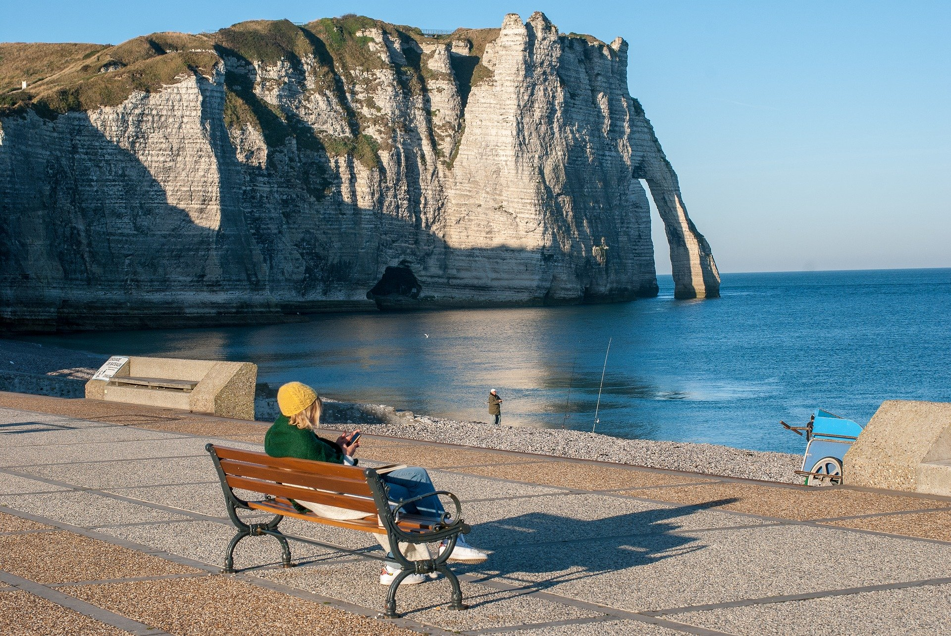 French Travel Course Prep Etretat